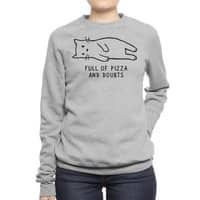 Full of Pizza and Doubts - crew-sweatshirt - small view