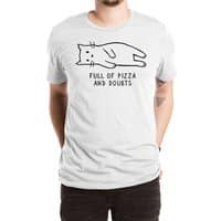 Full of Pizza and Doubts - mens-extra-soft-tee - small view