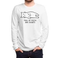 Full of Pizza and Doubts - mens-long-sleeve-tee - small view