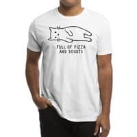 Full of Pizza and Doubts - mens-regular-tee - small view