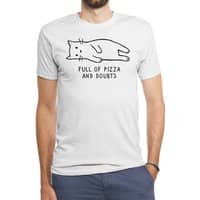 Full of Pizza and Doubts - mens-triblend-tee - small view