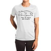 Full of Pizza and Doubts - womens-extra-soft-tee - small view