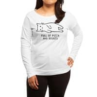 Full of Pizza and Doubts - womens-long-sleeve-terry-scoop - small view