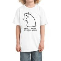 Vaguely Aware of Social Norms - kids-tee - small view