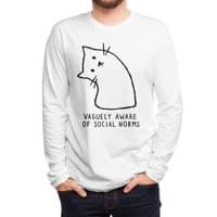 Vaguely Aware of Social Norms - mens-long-sleeve-tee - small view