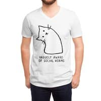 Vaguely Aware of Social Norms - vneck - small view