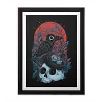 Rebirth - black-vertical-framed-print - small view