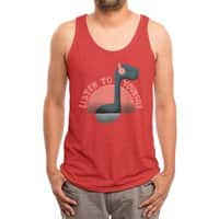 Sound Ness - mens-triblend-tank - small view