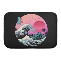 The Great Retro Wave - bath-mat - small view