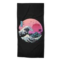 The Great Retro Wave - beach-towel - small view
