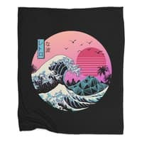 The Great Retro Wave - blanket - small view