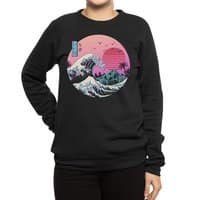 The Great Retro Wave - crew-sweatshirt - small view