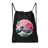 The Great Retro Wave - drawstring-bag - small view