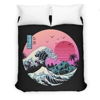 The Great Retro Wave - duvet-cover - small view