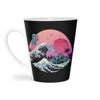 The Great Retro Wave - latte-mug - small view