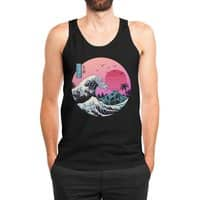 The Great Retro Wave - mens-jersey-tank - small view