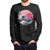 The Great Retro Wave - mens-long-sleeve-tee - small view
