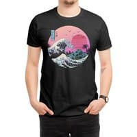 The Great Retro Wave - mens-regular-tee - small view