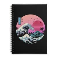 The Great Retro Wave - spiral-notebook - small view