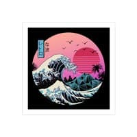 The Great Retro Wave - square-print - small view