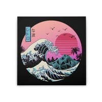 The Great Retro Wave - square-stretched-canvas - small view