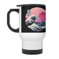 The Great Retro Wave - travel-mug-with-handle - small view