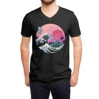 The Great Retro Wave - vneck - small view