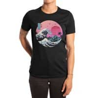 The Great Retro Wave - womens-extra-soft-tee - small view
