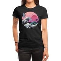 The Great Retro Wave - womens-regular-tee - small view