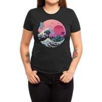 The Great Retro Wave - womens-triblend-tee - small view