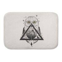 Owls and Wizardry - bath-mat - small view
