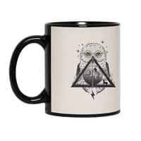 Owls and Wizardry - black-mug - small view