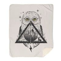 Owls and Wizardry - blanket - small view
