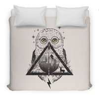 Owls and Wizardry - duvet-cover - small view