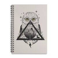 Owls and Wizardry - spiral-notebook - small view