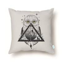 Owls and Wizardry - throw-pillow - small view