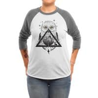 Owls and Wizardry - triblend-34-sleeve-raglan-tee - small view