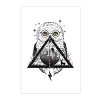 Owls and Wizardry - vertical-print - small view