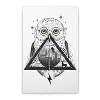 Owls and Wizardry - vertical-stretched-canvas - small view