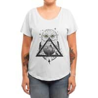 Owls and Wizardry - womens-dolman - small view