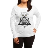 Owls and Wizardry - womens-long-sleeve-terry-scoop - small view