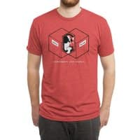 Schrödinger's Venn Diagram - mens-triblend-tee - small view
