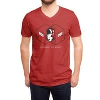 Schrodinger's Venn Diagram - vneck - small view