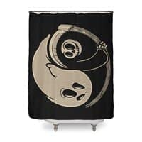 Afterlife and death - shower-curtain - small view