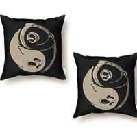 Afterlife and death - throw-pillow - small view