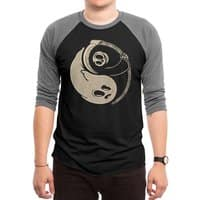 Afterlife and death - triblend-34-sleeve-raglan-tee - small view