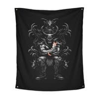 Dark Lord's Pet - indoor-wall-tapestry-vertical - small view