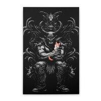 Dark Lord's Pet - vertical-stretched-canvas - small view