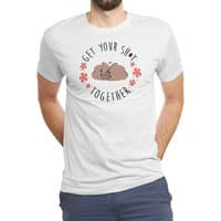 Get your shit together - mens-triblend-tee - small view