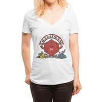As long as we have our Imagination! - womens-deep-v-neck - small view